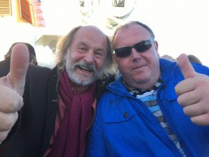 Klaus-Peter Wolf und Peter Grendel Fewo bei Peter